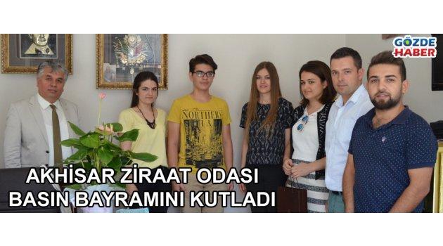 Akhisar ziraat odası basın bayramını kutladı