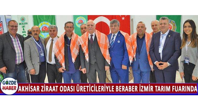 Akhisar Ziraat Odası Üreticileriyle Beraber İzmir Tarım Fuarında