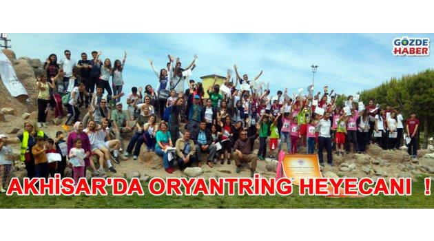 Akhisar'da Oryantring Heyecanı  !