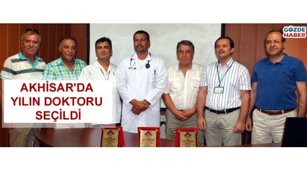 Akhisar'da yılın doktoru seçildi