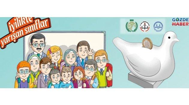 Akhisarlı sınıflar iyilikte yarışacak