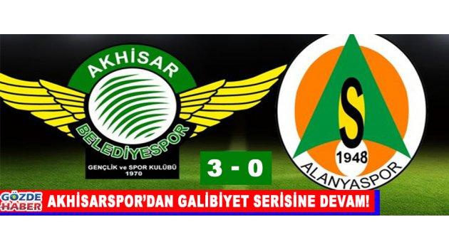 Akhisarspor'dan Galibiyet Serisine Devam!