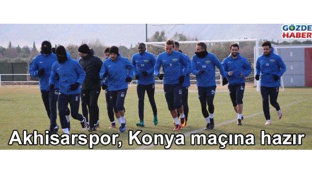Akhisarspor, Konya maçına hazır
