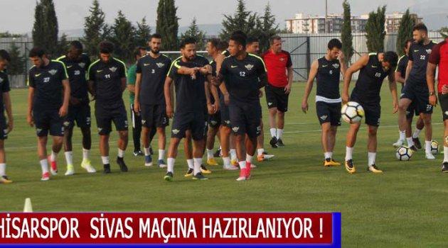 Akhisarspor  Sivas Maçına Hazırlanıyor !