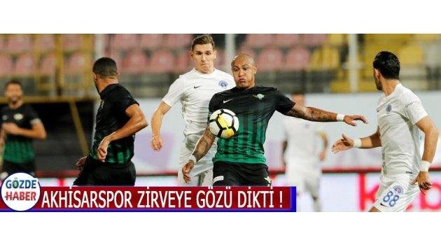 Akhisarspor Zirveye Gözü Dikti !