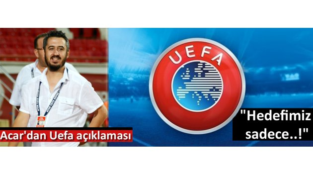 Akhisarspor'dan uefa açıklaması