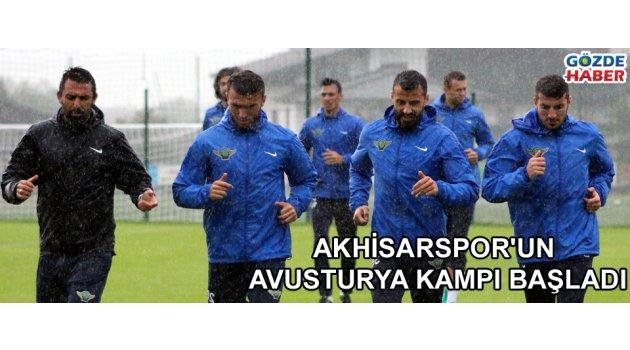 Akhisarspor'un Avusturya kampı başladı