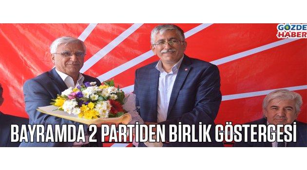Bayramda 2 Partiden Birlik Göstergesi !