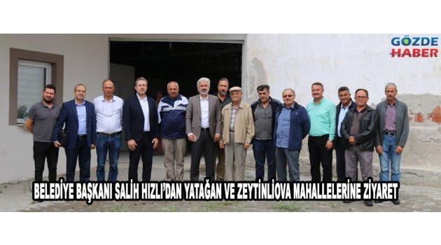 Belediye Başkanı Salih Hızlı'dan Yatağan ve Zeytinliova Mahallelerine ziyaret!