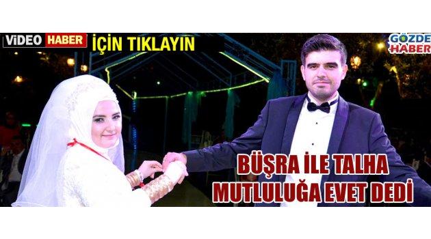 Büşra ile Talha mutluluğa evet dedi