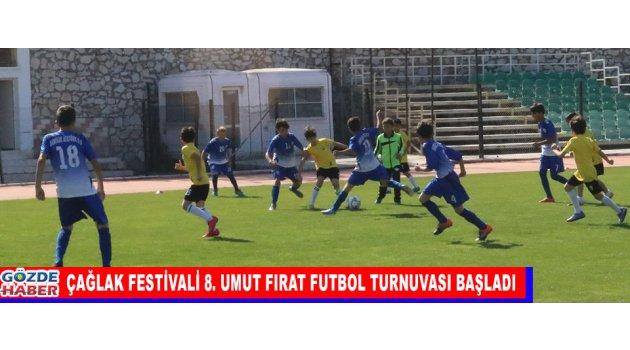 Çağlak Festivali 8. Umut Fırat Futbol Turnuvası Başladı