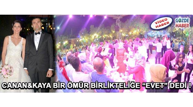 """Canan&Kaya Bir Ömür Birlikteliğe """"Evet"""" Dedi !"""