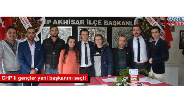 CHP'li gençler yeni başkanını seçti