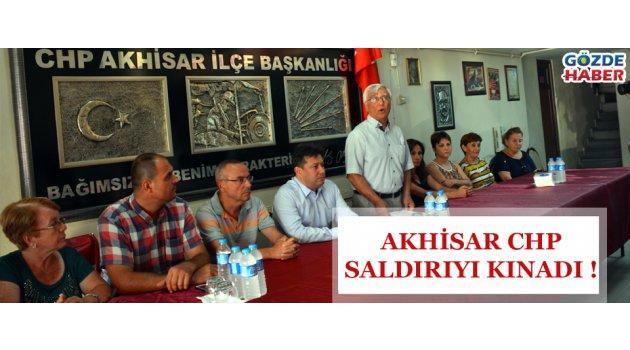 CHP'den saldırıya kınama !