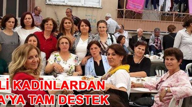 CHP'li kadınlardan Soma'ya tam destek