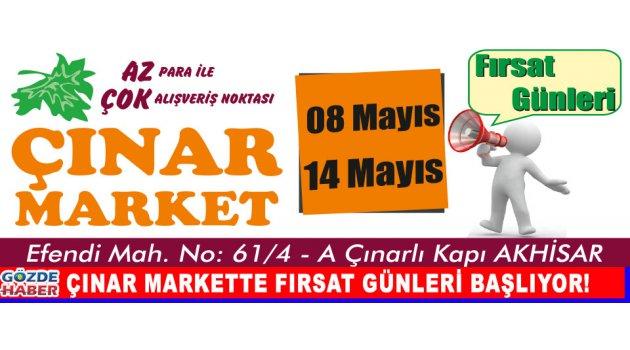 Çınar Markette Fırsat Günleri Başlıyor!
