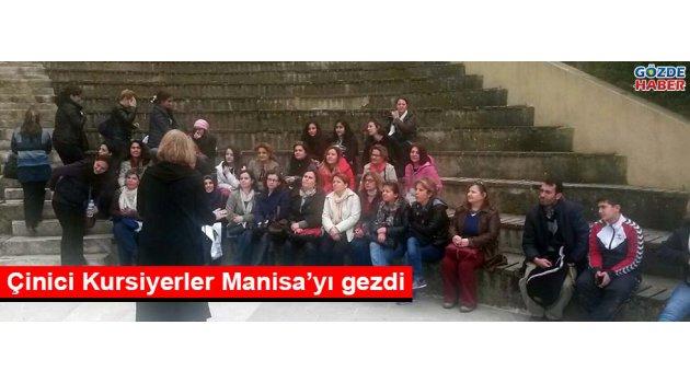 Çinici Kursiyerler Manisa'yı gezdi