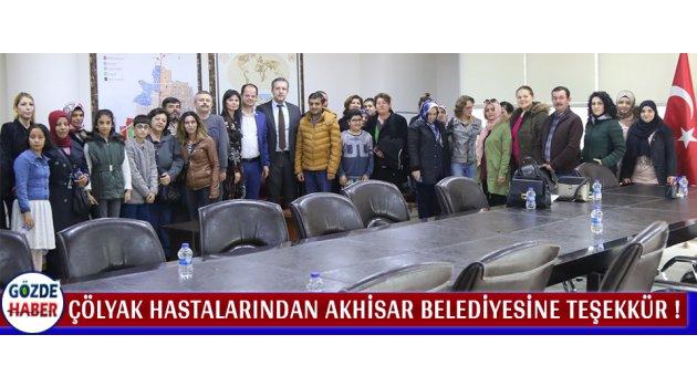 Çölyak Hastalarından Akhisar Belediyesine Teşekkür !