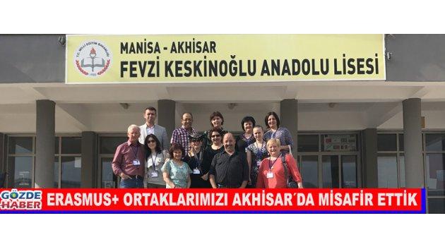 ERASMUS+ ORTAKLARIMIZI AKHİSAR´DA MİSAFİR ETTİK