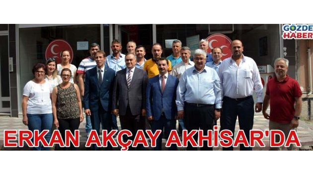Erkan Akçay Akhisar'da