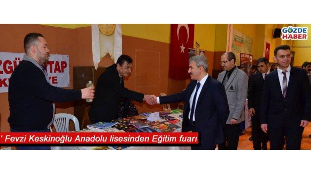 Fevzi Keskinoğlu Anadolu lisesinden Eğitim fuarı