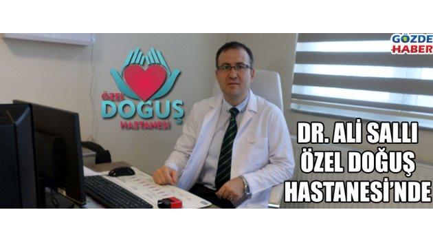 Fizik tedavi uzmanı Dr. Ali Sallı Özel Doğuş'ta
