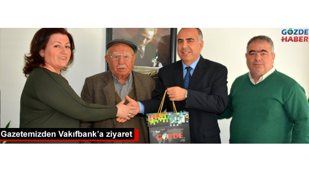 Gazetemizden Vakıfbank'a ziyaret