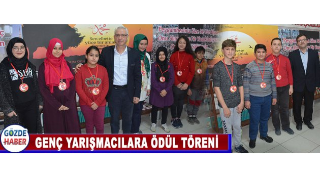 Genç Yarışmacılara Ödül Töreni