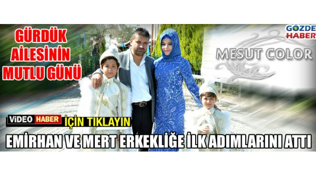 Gürdük ailesinin mutlu günü