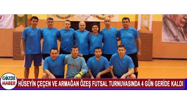 Hüseyin Çeçen Ve Armağan Özeş Futsal Turnuvasında 4 Gün Geride Kaldı