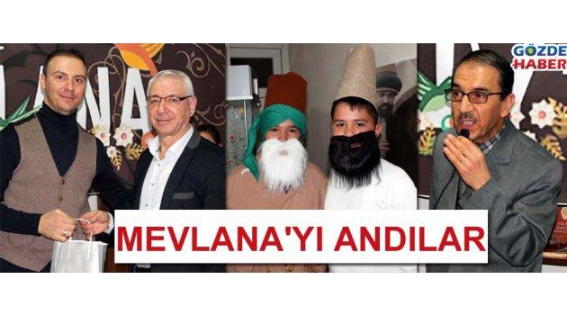İlim ve Kültür Vakfı Mevlana'yı andı