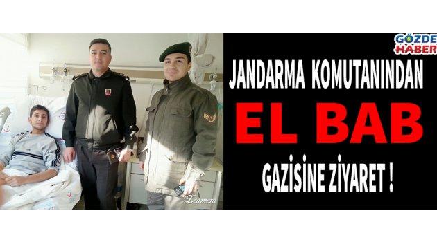 Jandarma Komutanından El Bab Gazisine Ziyaret !