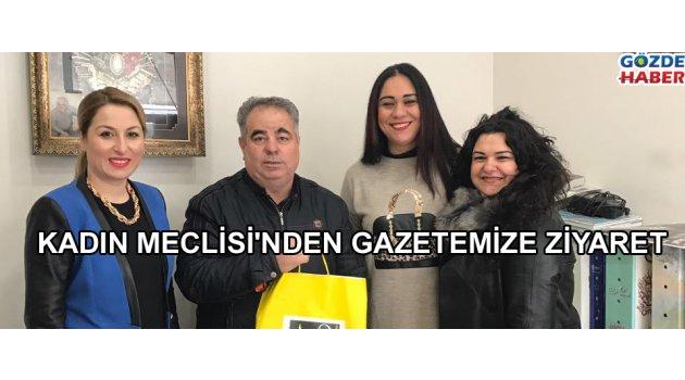 Kadın meclisinden gazetemize ziyaret