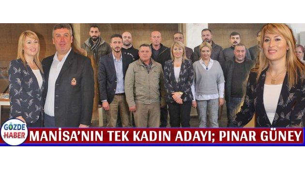 Manisa'nın Tek Kadın Adayı; Pınar Güney
