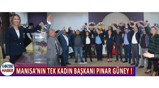 Manisa'nın Tek Kadın Başkanı Pınar Güney !