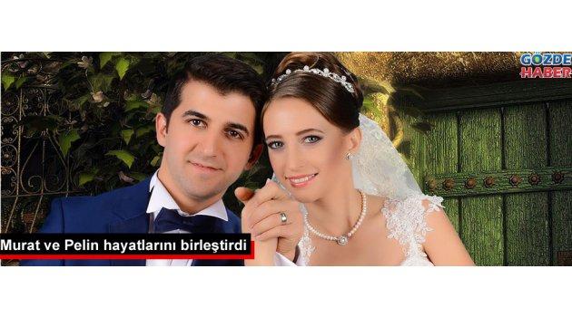Murat ve Pelin hayatlarını birleştirdi