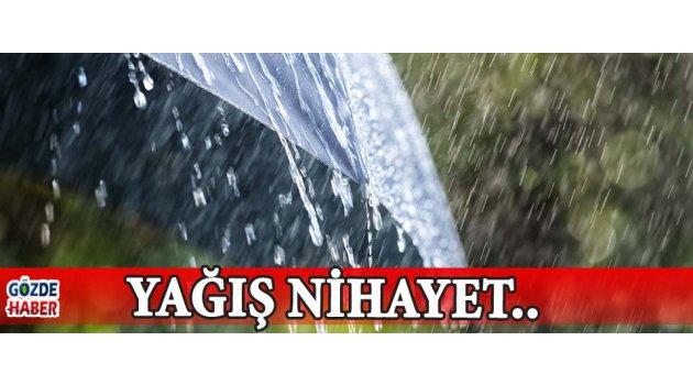 Yağış Nihayet..