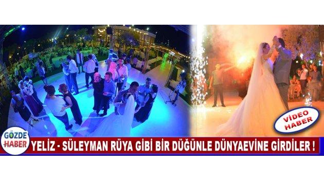 Yeliz - Süleyman Rüya Gibi Bir Düğünle Dünyaevine Girdiler !