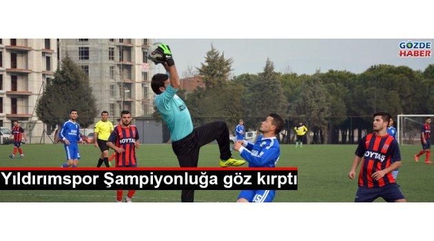 Yıldırımspor Şampiyonluğa göz kırptı