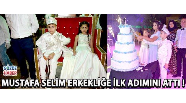 Mustafa Selim Erkekliğe İlk Adımını Attı !