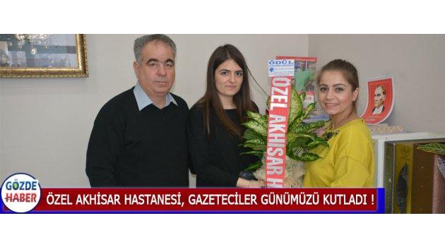 Özel Akhisar Hastanesi, Gazeteciler Günümüzü Kutladı