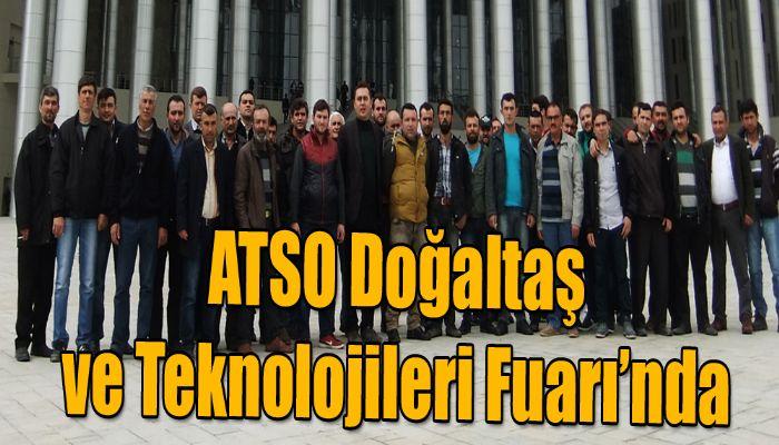 ATSO Doğaltaş ve Teknolojileri Fuarı'nda