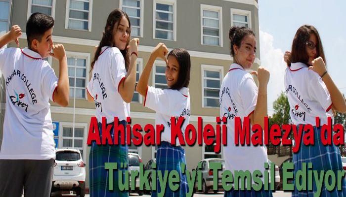 Akhisar Koleji Malezya'da Türkiye'yi Temsil Ediyor