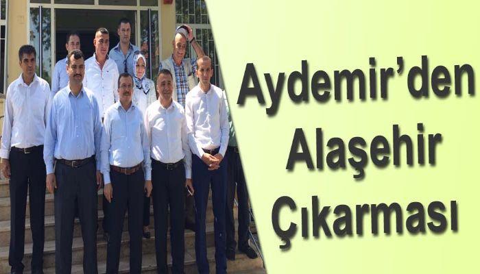 Aydemir'den Alaşehir Çıkarması