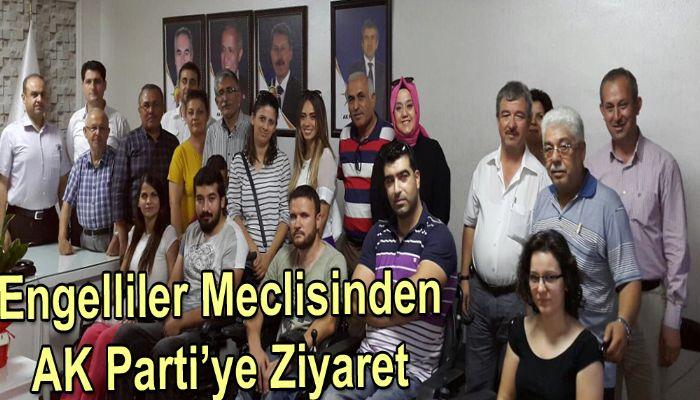 Engelliler Meclisinden AK Parti'ye Ziyaret