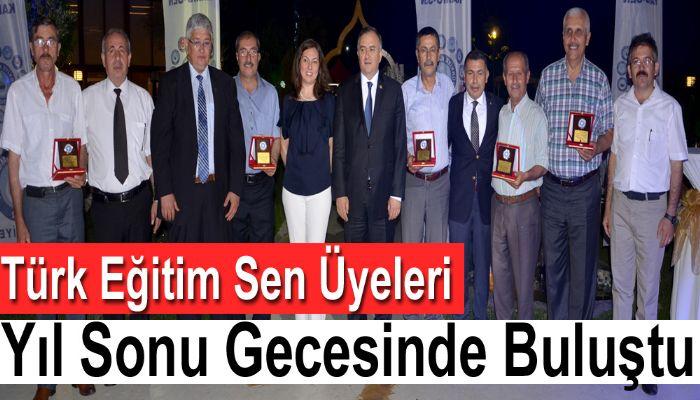 Türk Eğitim Sen Üyeleri Yıl Sonu Gecesinde Buluştu