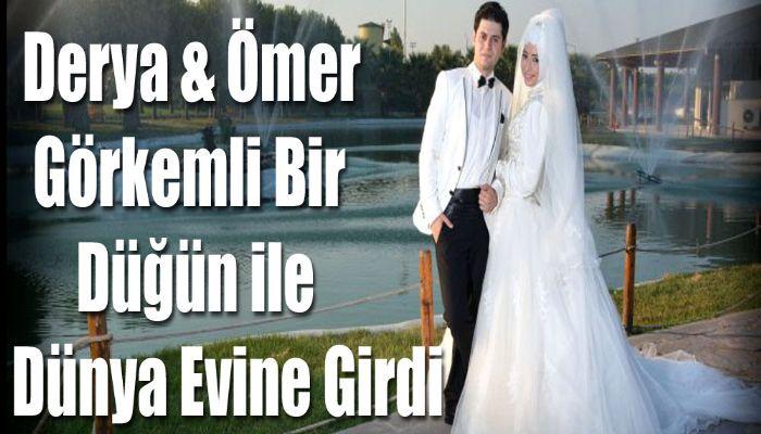 Derya ve Ömer Ütopia'da Görkemli Düğün ile Dünya Evine Girdi