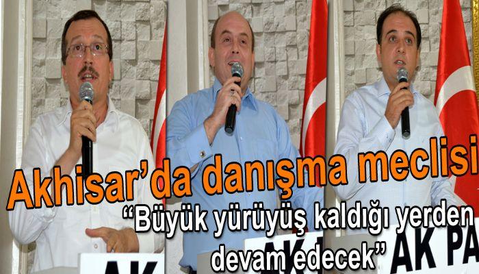 Akhisar Ak Partide danışma meclisi