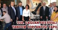 559. Çağlak Festivali Tanıtım Toplantısı Yapıldı !