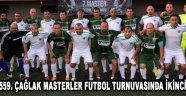 559. Çağlak Masterler Futbol Turnuvasında İkinci Gün !